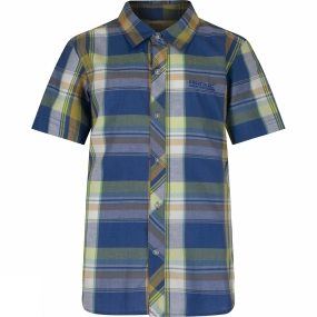 Regatta Boys Crayford Short Sleeve Shirt