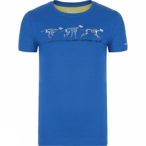 Dare 2 b Dare 2 b Kids Luck of the Draw Tee Oxford Blue (Running Gog Skeletons)