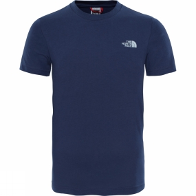 The North Face The North Face Youths Simple Dome T-Shirt Cosmic Blue