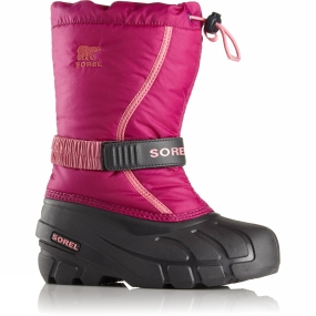 Sorel Sorel Youth Flurry 14+ Deep Blush/ Tropic Pink