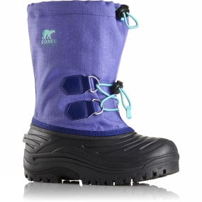 Sorel Sorel Youths Super Trooper Boot Age 14+ Purple Arrow/Reef