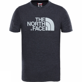 The North Face The North Face Youth Easy Tee Age 14+ TNF Dark Grey Heather/ High Rise Grey