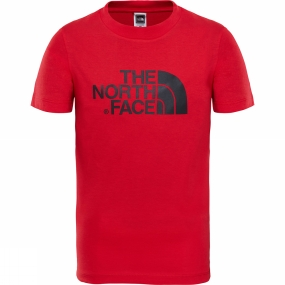 The North Face The North Face Youth Easy Tee Age 14+ TNF Red/ TNF Black