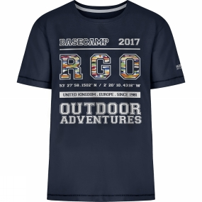 Regatta Kids Bobbles II T-Shirt Age 14+ Navy Collegiate