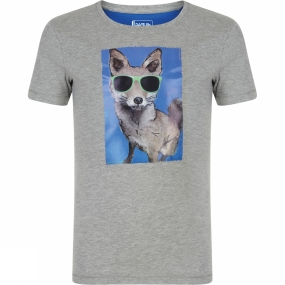 Dare 2 b Kids Luck of the Draw Tee Age 14+ Ash Grey Marl (Fox)
