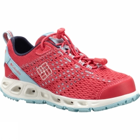 Columbia Youths Drainmaker III Shoe Age 14+ Tango Pink / Sky Blue