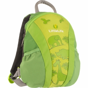 LittleLife Toddler Runabout Daysack Green