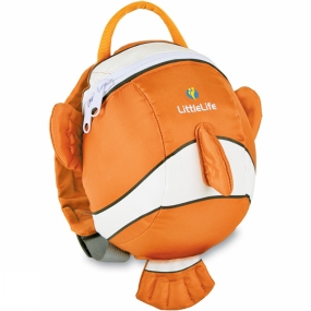 LittleLife LittleLife Toddler Clownfish Daysack Clownfish