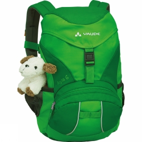 Vaude Kids Ayla 6 Rucksack Grass / Applegreen