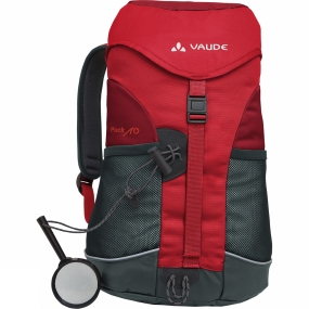 Vaude Kids Puck 10 Rucksack Salsa / Red
