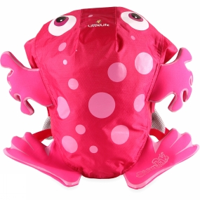 LittleLife LittleLife Kids Pink Frog SwimPak Pink Frog