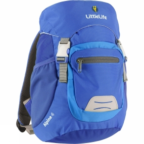 LittleLife Kids Alpine 4 Rucksack Blue