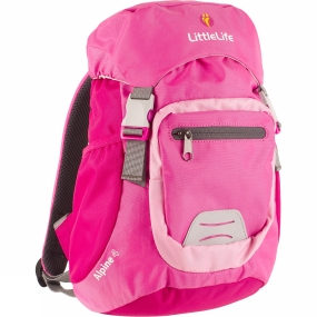 LittleLife LittleLife Kids Alpine 4 Rucksack Bright Pink