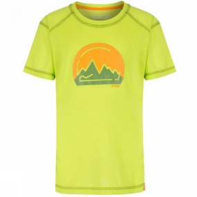 Regatta Kids Motion II T-Shirt Age 14+ Lime Zest
