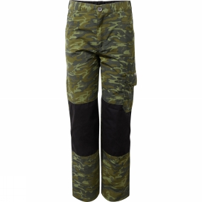 Craghoppers Craghoppers Kids Discovery Adventure Trousers Dark Moss Combo