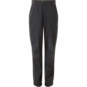 Craghoppers Craghoppers Boys NosiLife Terrigal Trousers Black Pepper