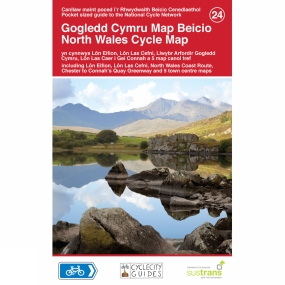 Sustrans North Wales Cycle Map 24