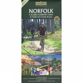 Goldeneye Guides Norfolk: Cycling Country Lanes and Traffic-Free Family Routes No Colour