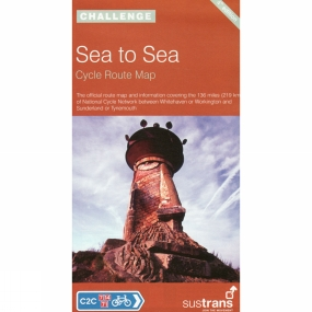 Sustrans Sea to Sea: Cycle Route Map