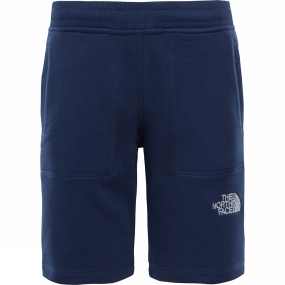 The North Face The North Face Youths Fleece Shorts Age 14+ Cosmic Blue