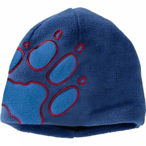 Jack Wolfskin Kids Front Paw Hat Royal Blue