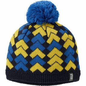 Jack Wolfskin Kids Magic Mountain Knit Cap Night Blue