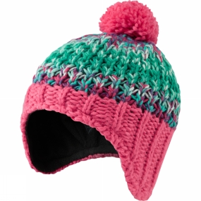 Craghoppers Kids Rainbow Hat Electric Pink Marl