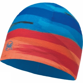 Buff Buff Childrens Microfiber and Polar Hat Patterned Graze Multi