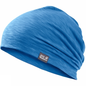 Jack Wolfskin Kids Travel Beanie Wave Blue
