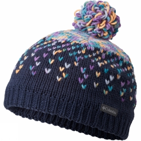 Columbia Childrens Siberian Sky Beanie Collegiate Navy
