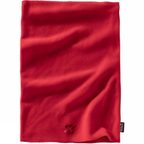 Jack Wolfskin Kids Real Stuff Loop Scarf Ruby Red