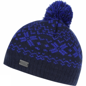 Regatta Boys Snowflake II Hat Navy