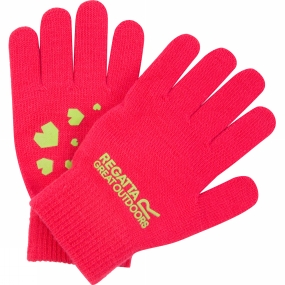 Regatta Boys Clutch Glove II Bright Blush