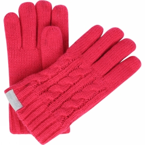 Regatta Boys Multimix Glove Bright Blush