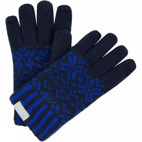Regatta Boys Snowflake Glove II Navy