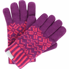 Regatta Boys Snowflake Glove II Winberry