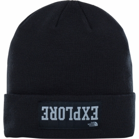 The North Face The North Face Youths Dock Worker Beanie TNF Black/ Mid Grey