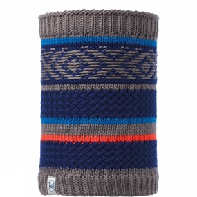 Buff Buff Childrens Knitted and Polar Neckwarmer Tipsy Blue Ink/Navy