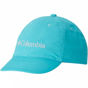 Columbia Youths Adjustable Ball Cap Geyser