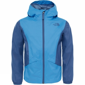The North Face The North Face Girls Zipline Rain Jacket Provence Blue