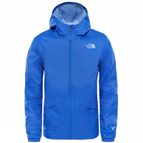 The North Face The North Face Girls Zipline Rain Jacket Dazzling Blue
