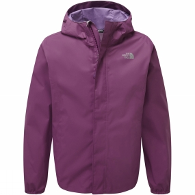 The North Face The North Face Girls Resolve Reflective Jacket Wood Violet