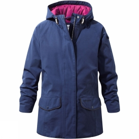 Craghoppers Craghoppers Girls 250 Jacket Night Blue
