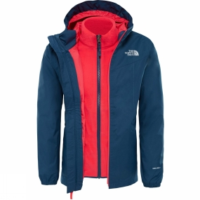 The North Face Girl's Eliana Rain Triclimate Jacet