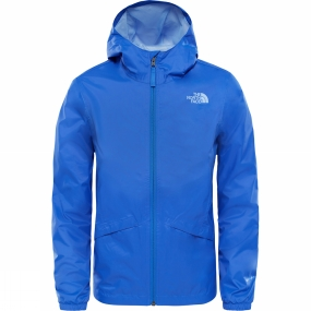 The North Face The North Face Girls Zipline Rain Jacket Age 14+ Dazzling Blue