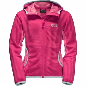 Jack Wolfskin Girls Tongari Fleece Tropic Pink