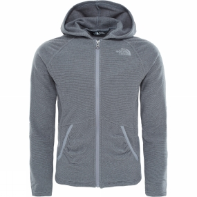 The North Face Girls Mezzaluna Full Zip Hoodie