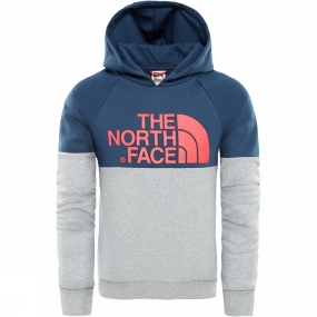The North Face Girls Drew Peak raglan PV Hoodie