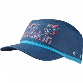 Jack Wolfskin Girls Brand Hat Ocean Wave
