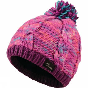 Dare 2 b Kids ColourCraze Beanie Ultra Violent Purple